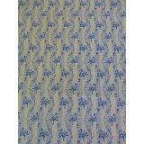 Porcelain Blue~Wavy Strip on White~Cotton Fabric, Quilt, Home Decor~Northcott~