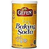 Gefen Pure Baking Soda Gluten Free 12 Oz. Pack Of 6.