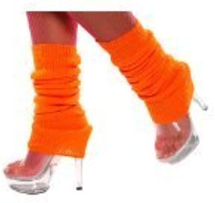 Orange Leg Warmers Available in Various Colours