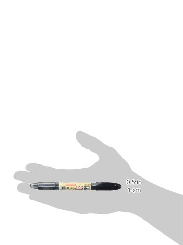 Pilot Futayaku Double-Sided Brush Pen, Fine/Medium, Black Ink (SVW20KSNB)