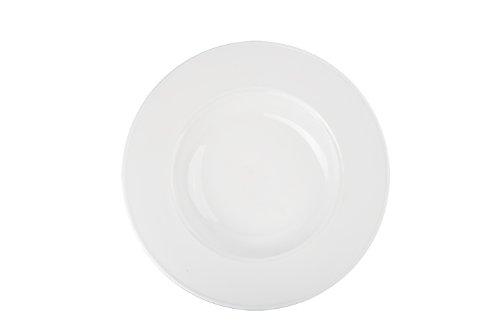Bia Cordon Bleu White Porcelain Saturn Pasta Bowls, Set of 4 by BIA Cordon Bleu