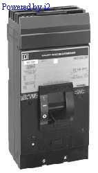 SCHNEIDER ELECTRIC Molded Case Circuit Breaker 600-Volt 300-Amp LH36300 Et,Inv,B/L,Open,Front Op,3P,480Vac,800A by Schneider Electric