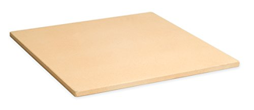 "Pizzacraft 15"" Square ThermaBond Baking/Pizza Stone - For Oven or Grill - PC9897"