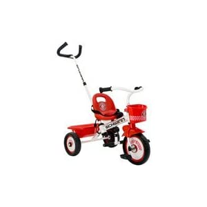 Schwinn Easy-Steer Tricycle with Parent Assist Handle, Red