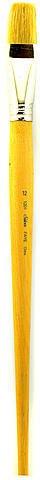Silver Brush Faye Series White Chinese Bristle Brushes (Size: 12) - Flat 5 pcs SKU# 1823583MA