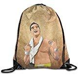 Show Time Wrestler Delrio Backpack Gymsack Drawstring Sack Bag]()