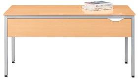 パソコンテーブルY2用幕板付き Y2-147HM木目 415729 B001FVW7F4