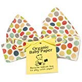 Baby Paper Organic Crinkly Baby Toy - Organic Multi Dot