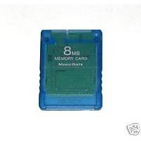 Playstation 2 Memory Card 8MB - Blue (Card Sony Ps2 8mb Memory)