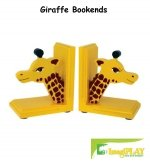 Imagiplay Toys (ImagiPLAY Solid Wood Giraffe Bookends)
