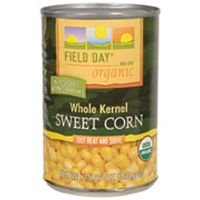 Field Day Corn, Og, Whole Kernel, 15.25-Ounce (Pack of 12)