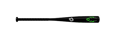 "DeMarini 2019 Uprising Junior Big Barrel (-10) 2 3/4"" Senior League Baseball Bat, 28""/18 oz"
