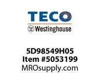 Teco-Westinghouse 5D98549H05 AEROSOL TOUCH-UP SPRAY PAINT BLUE