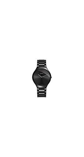 Rado True Thinline Black Ceramic Mens Watch R27741182