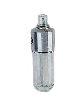 Arrow Pneumatics L182 1/4'' Mini Lube, Poly Bowl, Operating Temperature Range 40 degreeF to 160 degreeF, Mmx Pressure 200Psig, Black E Coated Aluminum Body by Arrow Pneumatics