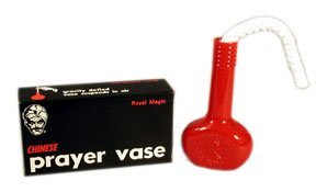 Chinese Prayer Vase From Royal Magic - It Defies Gravity!