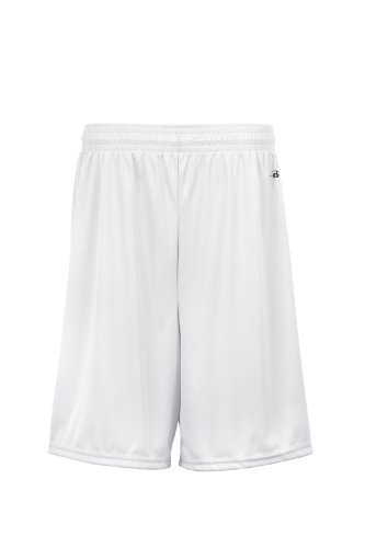 badger-sportswear-boys-b-dry-performance-short-white-medium