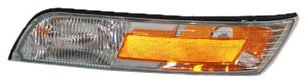 TYC 18-5044-01 Mercury Grand Marquis Driver Side Replacement Side Marker Lamp with Corner - Side Mercury Marker
