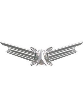 Air Force No Shine Badge Basic Space ()