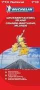 Großbritannien-Irland (MICHELIN Nationalkarten, Band 713)