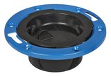 Weld-On Water Tite 4 x 2-1/4 in. ABS Adjustable Flush Closet Flange with Knockout