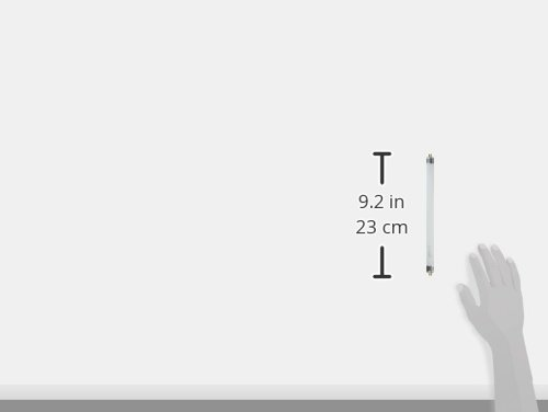 Satco S1902 4100k 6 Watt Mini Bi Pin T5 Preheat Lamp Cool White