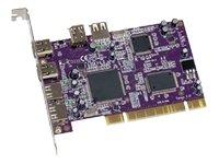 SONNET TECHNOLOGIES FWUSB2A Tango 6PORT Firewire/usb 2.0 Pci 400MBPS/480MBPS Mac ()