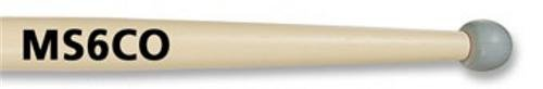 Vic Firth Corpsmaster MS6CO Marching Snare Sticks (Rubber Drumsticks)