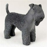 Kerry Blue Terrier Original Dog Figurine (4in-5in)