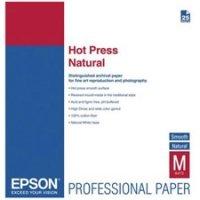 Epson Hot Press Natural Matte Inkjet Photo Paper 24'' x 50' Roll S042324