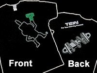 Tein (TN004-010M T-Shirt, Medium - Tein Apparel