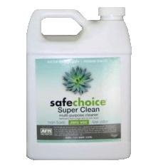 AFM SafeChoice Super Clean All Purpose Cleaner & Degreaser - Gallon (Package of 4 Gallons) by AFM SafeCoat