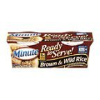 Minute Ready to Serve Brown & Wild Rice 2 - 4.4 oz cups (Pack of 8) by Minute [Foods]