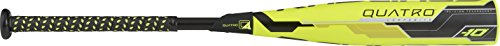 Rawlings Quatro 10 USSSA Series Bat, Yellow/Black, 30