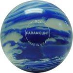 EPCO-Duckpin-Bowling-Ball-Marbleized-Blue-White-Single-Ball