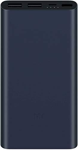 Xiaomi Mi 2i batería Externa Negro Polímero de Litio 10000 mAh - Baterías externas (Negro, Universal, Aluminio, Rectángulo, Polímero de Litio, 10000 mAh)