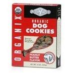 Castor & Pollux - Organix Organic Dog Cookies Organic Peanut