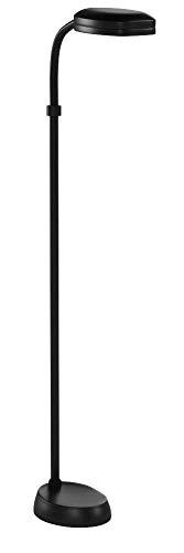 (Lite Source LSP-801BLK Aptos Floor Lamp with Black Acrylic Shade, 52