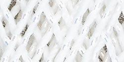 Aunt Lydia's Bulk Buy Crochet Cotton Metallic Crochet Thread Size 10 (3-Pack) White/Pearl 154M-0001P
