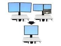 UPC 698833018332, ERGOTRON Ergotron 97-607 Workfit-C Convert-To-Single Hd Kit From Dual Or Lcd & Laptop