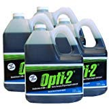 Opti-2 20044 1 Gallon 2-Cycle Engine Lubricant w/ Fuel Stabilizer - Case of 4