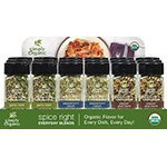 Frontier Natural 19035 Spice Right, Pepper, Ranch & Garlic Countertop Display by Frontier