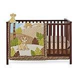 Lion King Simba Crib Bedding and Wall Decor - 4-piece