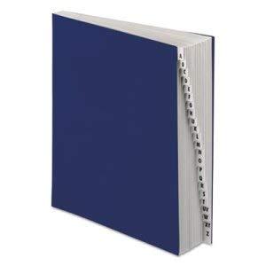 - Tops Business Forms Pendaflex Desk File, A-Z Index, Letter Size, Acrylic-Coated Pressboard,Black/Blue