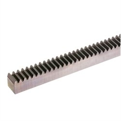 Precision gear rack module 1.5 15x15x500mm long material 16MnCr5 teeth induction hardened ground all-sided