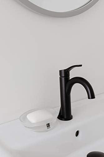 [スポンサー プロダクト]umbra 石鹸置き ソープディッシュ ガラス トランスルーセントホワイト VAPOR 2020206220