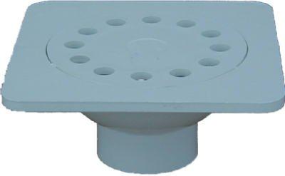 Genova Products 78860 PVC Pipe Fitting,PVC Vinyl Bell Trap, 6 x 6-In. - Quantity 20