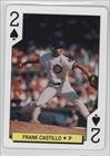 Frank Castillo (Baseball Card) 1992 U.S. Playing Card Chicago Cubs - Box Set [Base] - Chicago 2s