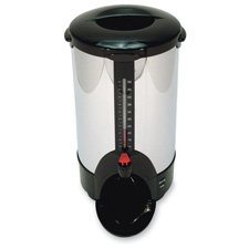 50-Cup Percolating Urn, Stainless Steel CP50