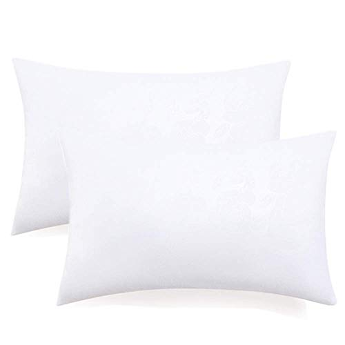 (Top Eletina Thow Pillow Inserts 2 Packs Thick Filling Down Like Comfort Good Resilience Square Form Sham Stuffer 20